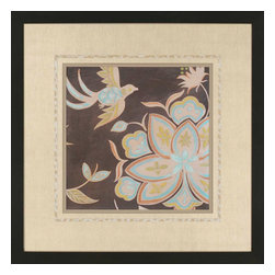 Paragon - Heirloom Floral III - Framed Art - Each product is custom made upon order so there might be small variations from the picture displayed. No two pieces are exactly alike.