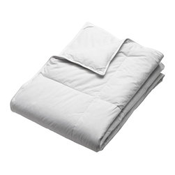 None - Dorm Ready Twin XL Down Blanket - Snuggle up under this extra-large-twin down blanket, and maintain the perfect temperature. This blanket combines just the right amount of fill with a cambric-cotton cover and lightweight construction to keep you warm without ever overheating.