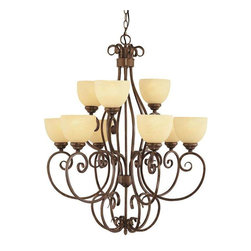 Trans Globe Lighting - Trans Globe Lighting 7218 ROB Chandelier In Rubbed Oil Bronze - Part Number: 7218 ROB