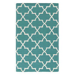 Artistic Weavers - Artistic Weavers Pollack Keely (Teal) 8' x 11' Rug - This Hand Tufted rug would make a great addition to any room in the house. The plush feel and durability of this rug will make it a must for your home. Free Shipping - Quick Delivery - Satisfaction Guaranteed
