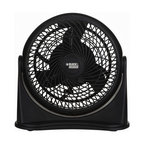 "Ragalta - Black & Decker 16"" High Velocity Floor Fan - Black & Decker 16"" High Velocity Turbo Air Circulator with 3 Speed Settings for Adjustable Air Flow Speed. 180 degree Adjustable Tilting Head for Multi Directional Air Flow. Wall Mountable Option. Mounts to any flat wall or surface. Powerful Air Circulator helps to reduce energy costs and maximize air flow."