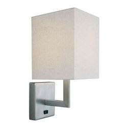 Wall Sconce With Integrated Switch : Houzz.com: Online Shopping for Furniture, Decor and Home Improvement