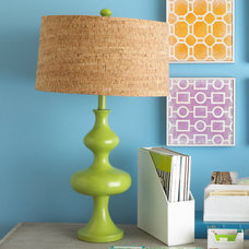 eclectic table lamps by RSH