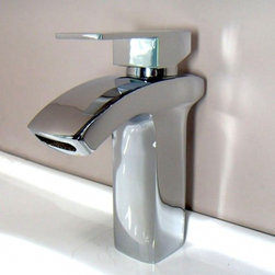 JollyHome - JollyHome Brass Body Bathroom Sink Faucets - Complete parts and all install fittings are included.Water pressure tested for industry standard.Easy to keep clean and maintain.Ceramic valve core