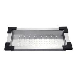 Kraus - Kraus CS-3 Stainless Steel Colander - Kraus Colander is an ideal addition to your kitchen sink