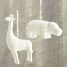 Contemporary Christmas Ornaments by Crate&Barrel