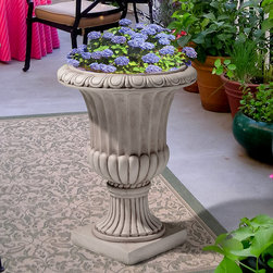 Christopher Knight Home Antique White Italian Urn Planter - Pots and planters can add dimension and interest to the garden. I love the classical lines on this one.