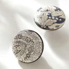 Contemporary Cabinet And Drawer Knobs by Pottery Barn