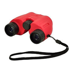 Picnic at Ascot - Compact Binoculars, Red by Picnic at Ascot - Our Compact Binoculars in Red by Picnic at Ascot is made from a durable aluminum die cast body with non-slip rubber armor. It has fully coated optics for superior light transmission and brightness. Great for traveling, concerts, hiking and sporting events.