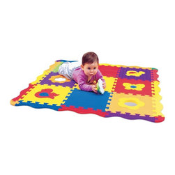 Edushape - Edushape Play and Sound Mat Multicolor - 716106 - Shop for Gyms and Play Mats from Hayneedle.com! The Edushape Play and Sound Mat is a play mat made of soft foam and full of nifty activities. Check yourself out in the mirror while listening to the musical flower contained in this fun puzzle.About EdushapeEstablished in 1983 Edushape is a family-owned and -operated company with a focus on manufacturing quality children's toys and products. Edushape is committed to producing soft safe quality children's toys that promote successful developmental learning through play.