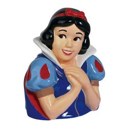 Westland - 10.75 Inch The Beautiful Snow White Posing Hands Under Chin Cookie Jar - This gorgeous 10.75 Inch The Beautiful Snow White Posing Hands Under Chin Cookie Jar has the finest details and highest quality you will find anywhere! 10.75 Inch The Beautiful Snow White Posing Hands Under Chin Cookie Jar is truly remarkable.