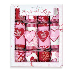 Meri Meri Valentine's Day Crackers - Borrow a UK tradition, and set a Valentine cracker at each place.