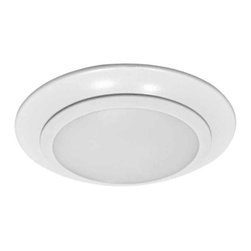 """Sea Gull Lighting - 6"""" Traverse LED Recessed Retrofit 3000K - 4-Pack Traverse LED: 6 Inch LED Recessed Retrofit or Ceiling Mount 3000K"""