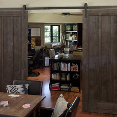 Rustic Home Office by Artistic Designs for Living, Tineke Triggs