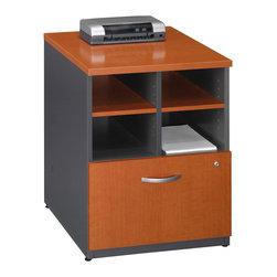 BBF - Bush Series C 24 Inch Storage Unit in Auburn - Bush - Filing Cabinets - WC48504 -