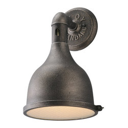 """Troy Lighting - Troy Lighting B3862 Telegraph Hill 1 Light 15"""" Wall Sconce - Features:"""