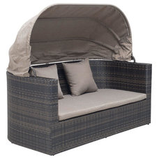 Transitional Outdoor Loveseats by zopalo