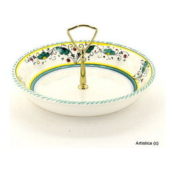 Artistica - Hand Made in Italy - Orvieto: Tid-Bit Shallow Bowl - Artistica's Exclusive!