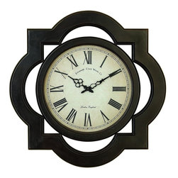 Benzara - Wood Wall Clock Uniquely Scalloped - Wall decor with great utility. Support your existing wall decor with 81667 Wood WALL CLOCK. It is an excellent anytime low priced wall decor upgrade option with great utility for everyone. Just have a look over this excellent wall clock piece, you will fall in instant love with its simplicity.