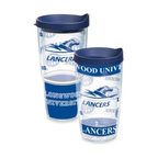 Tervis - Tervis Longwood University Lancers Wrap with Lid Tumbler - Show off what a fan you are of the Longwood Lancers with this durable tumbler that features the Lancers' wrap-around styled logo. The tumbler also features a double-wall construction and insulation that keeps hot drinks hot and cold drinks cold.