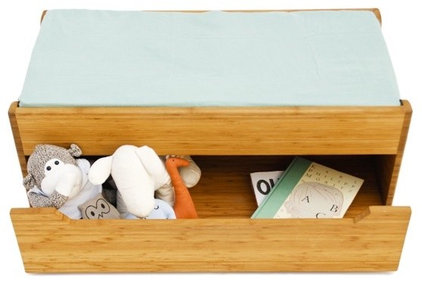 modern toy storage by Clever Tomato