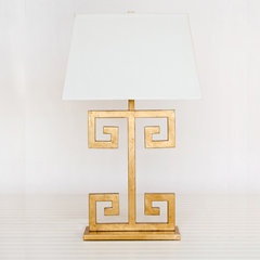 eclectic table lamps by Worlds Away