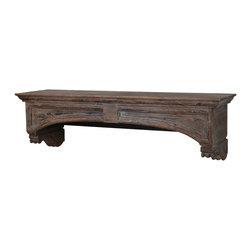 Uttermost - Wood Auden Accent Piece - Wood Auden Accent Piece