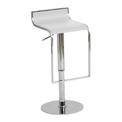 Alexander Adjustable Bar Stool by Nuevo