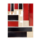 Komodo Custom Frame Collection by Larson-jUhl - Featuring authentic, hand crafted details, Larson-Juhl's Komodo collection is available in two lacquered finishes, Red and Black. To achieve a look similar to Asian lacquered furniture, the edges of Komodo's four profiles have been hand rubbed, revealing accents of both black and brown. These clean, modern profiles epitomize drama and sophistication and are perfect for those looking to add a highly unique element to their home décor.