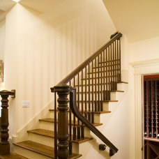 Traditional Staircase by 2Scale Architects