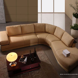 High End Italian Leather Living Room Furniture - Features: