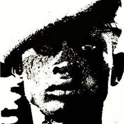 """""""Urban Soldier"""" (Original) By Robin Baker - Volunteer Neighborhood Patrol In An Urban Area."""