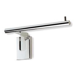 StilHaus - Chrome Toilet Paper Holder - Toilet paper holder in chrome finish.