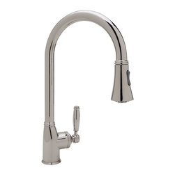 ROHL Michael Berman Pull Down Faucet - Product Number: MB7928LM