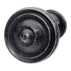 Hafele - Hafele 134.33.320 Black Cabinet Knobs - Hafele item number 134.33.320 is a beautifully finished Black Cabinet Knob.