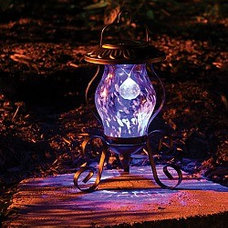 traditional outdoor lighting by madaboutgardening.com