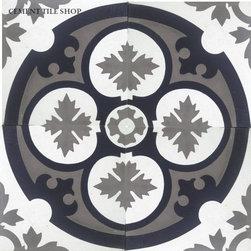 Contemporary Cement Tile - Philadelphia II Cement Tile from Cement Tile Shop