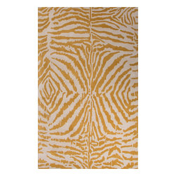 Jaipur Rugs - Hand-Tufted Animal Print Pattern Wool Black/Ivory Area Rug ( 8x11 ) - En Casa is the design collection of Cuban born, Queens, NY raised painter and surface designer, Luli Sanchez. This collection is based off of her painterly works of art that capture an organic and moody yet optimistic spirit. Her hand drawn florals and geometrics were truly inspiring for this Hand Tufted collection.