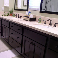 Traditional Bathroom by Mr. Cabinet Care