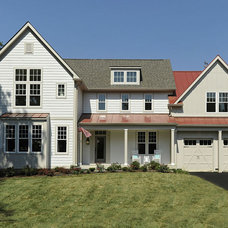 Transitional Exterior by gps designs . architecture