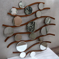 Decor wall mirrors, New &fashion Design for your house, Luxury Mirros - 1.Let the sun shine in with a distinctive frameless mirror