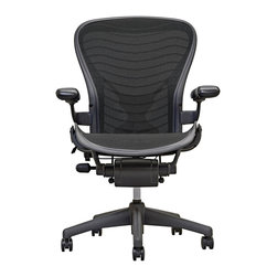 Herman Miller - Aeron Chair by Herman Miller  Loaded Posture Fit  Carbon Wave - Aeron Chair Loaded by Herman Miller