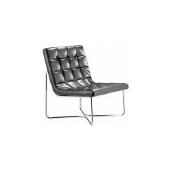 Designer Chaise - Buy Modern Leatherette Lounge Chair & Ottoman Black or White from http://www.interiortradefurniture.com/designer-furniture/designer-chaise/waltz-lounge-chair-ottoman-black-or-white.html