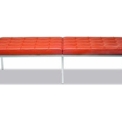 Knoll - Knoll | Florence Knoll Three-Seater Bench - Design by Florence Knoll, 1954.