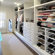 Traditional Closet by McLean & Company - Luxury Homes