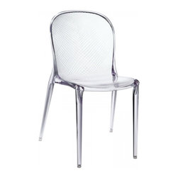 Modway Imports - Modway EEI-789-CLR Scape Dining Side Chair In Clear - Modway EEI-789-CLR Scape Dining Side Chair In Clear