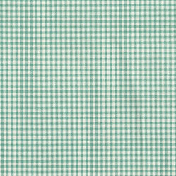 Close to Custom Linens - Valance Gingham Check Pool Blue-Green - A checkered past is thoroughly acceptable in the right company. For example, while this vintage gingham check can easily stand alone, it also makes a pretty, complimentary companion to other traditional patterns you've collected. Mixing and matching the bed, window and table linens just adds to the fun!