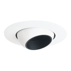 "Juno Lighting - Juno 448 4"" Eyeball with Black Baffle Trim - 4"" eyeball with black baffle trim for use with select Juno housings."