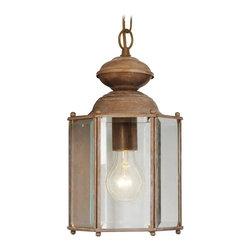 Joshua Marshal - Polished Brass Hanging Lantern - Polished Brass Hanging Lantern