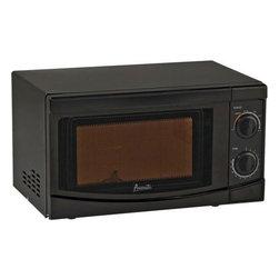 Avanti - Avanti 0.7 Cubic Foot Black Mechanical Microwave - Avanti 0.7 cubic foot black mechanical microwave.